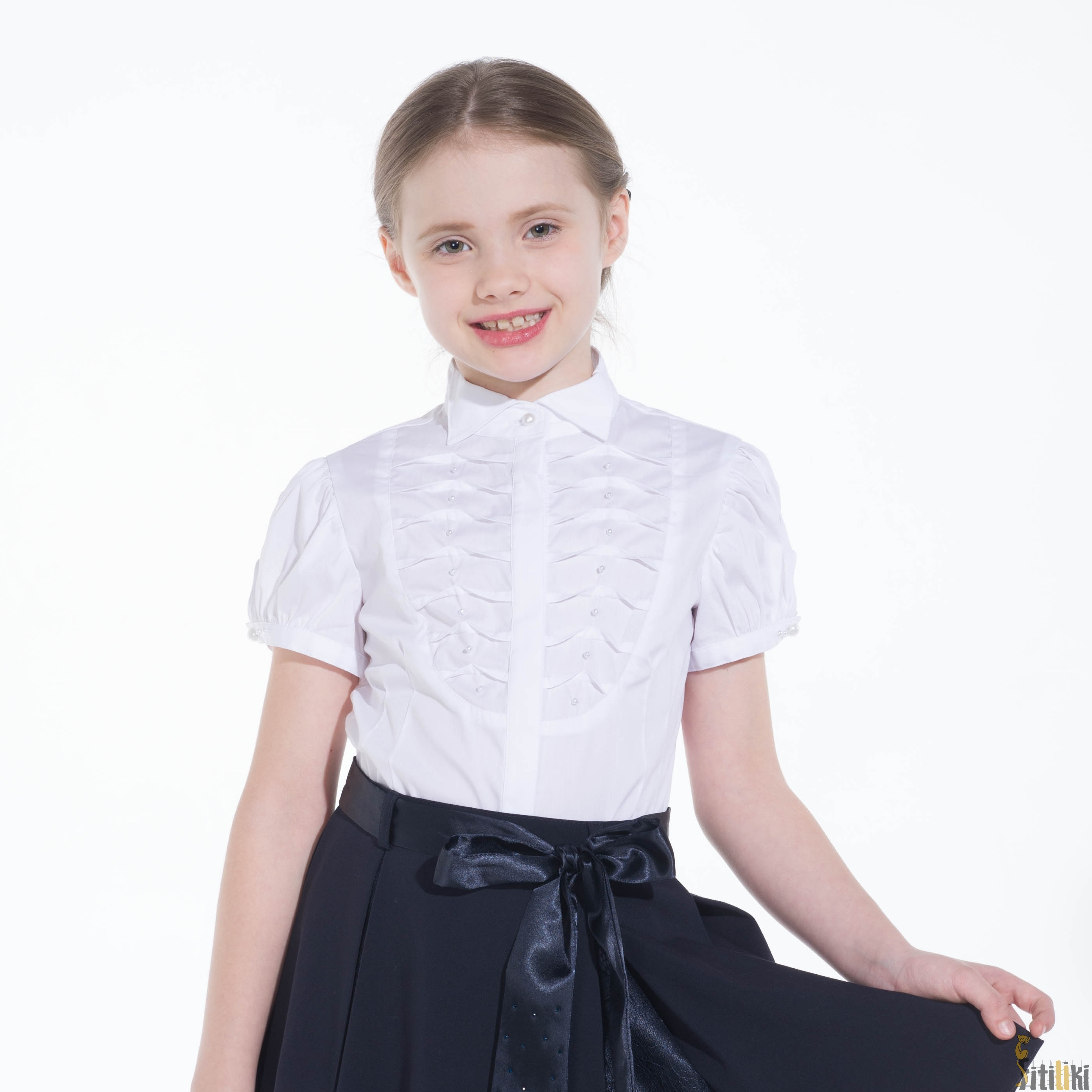 Школьные Блузки Для Девочек В Волгограде
